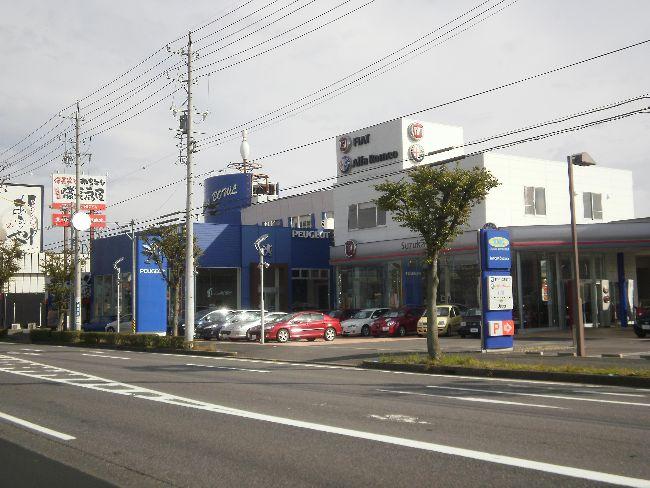 商業店舗、鉄骨造、平屋建て、KMGインポート店