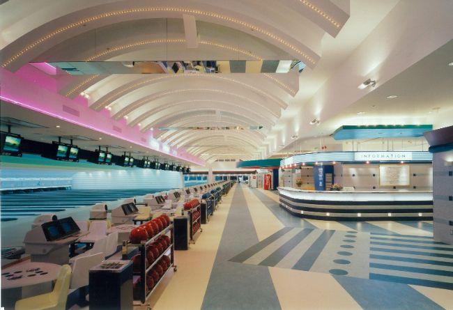 商業店舗、アミューズメント、鉄骨造、3階建て、スポーツプラザ・テンボーイ