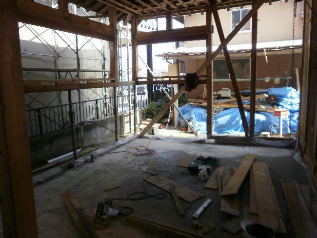 住宅リフォーム、木造、平屋建て