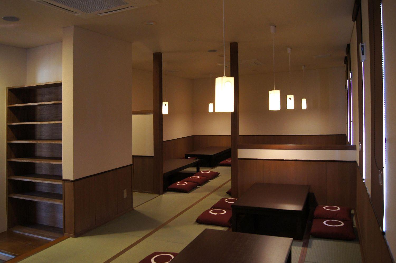 飲食店舗,木造,平屋建て,喜八,宮田建築設計事務所